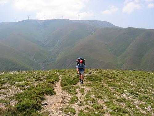 Climbing the mountain top...