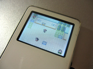 Playing Pokemon Crystal (Gameboy Color Game) on iPod nano