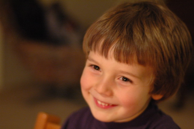 Carl when he was 4