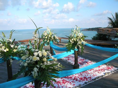 サムイ島‐wedding