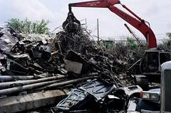 scrap, demolition, iron, waste,