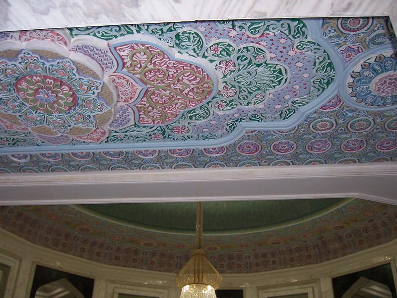 Fresco ornamentation