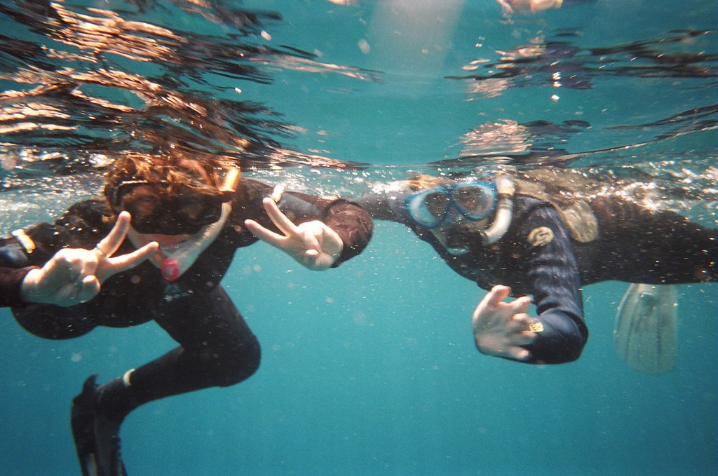 Snorkelling Japanese style