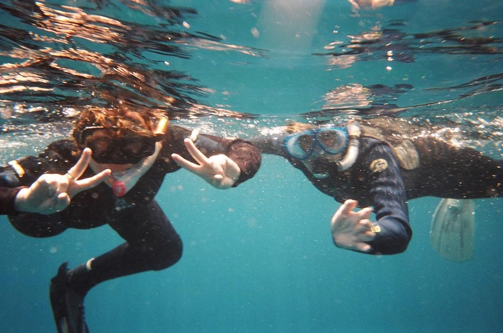 Snorkelling Japanese style