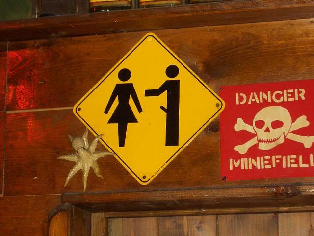Caution: Erection ahead!