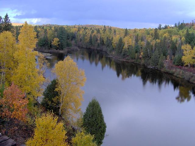 Sudbury (ON) Canada  city photo : ... river fall colors