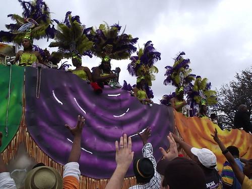 Krewe of Zulu Mardi Gras New Orleans