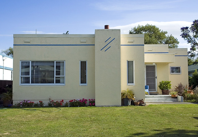 Art deco house flickr photo sharing for Art deco house design