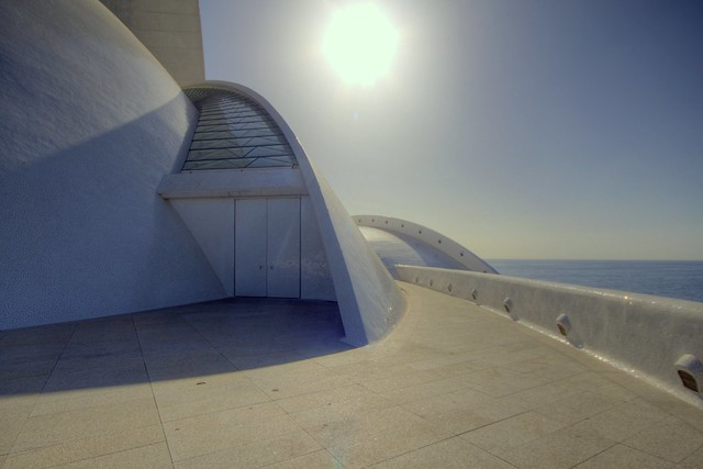 auditorio with backlight