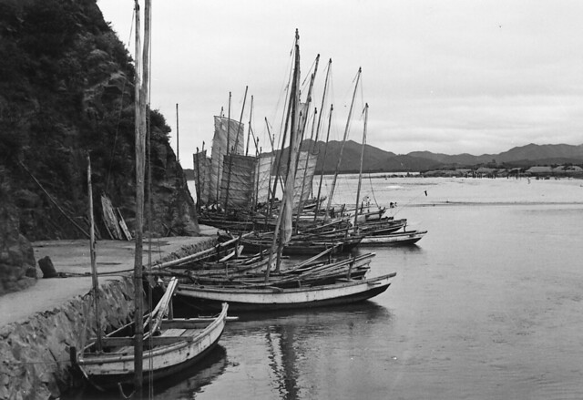 1960 Kangnung, South Korea ~ Fishing Boats | Flickr - Photo Sharing!