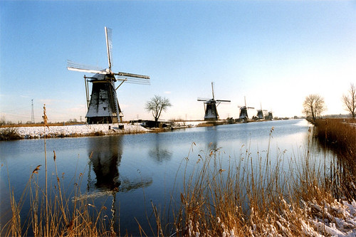 Mills from Kinderdijk