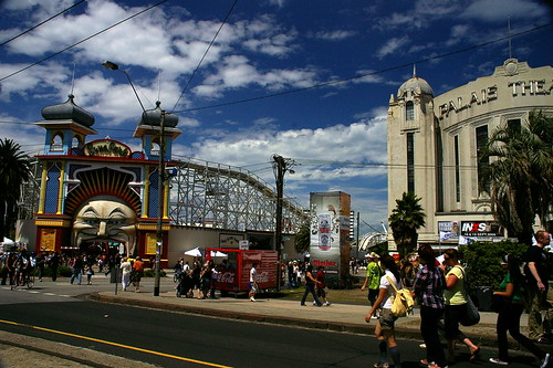 Palais Theatre and Luna Park