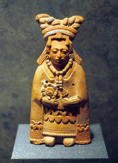 Mujer Maya de Jaina