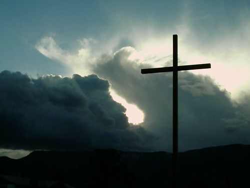 cloud and cross