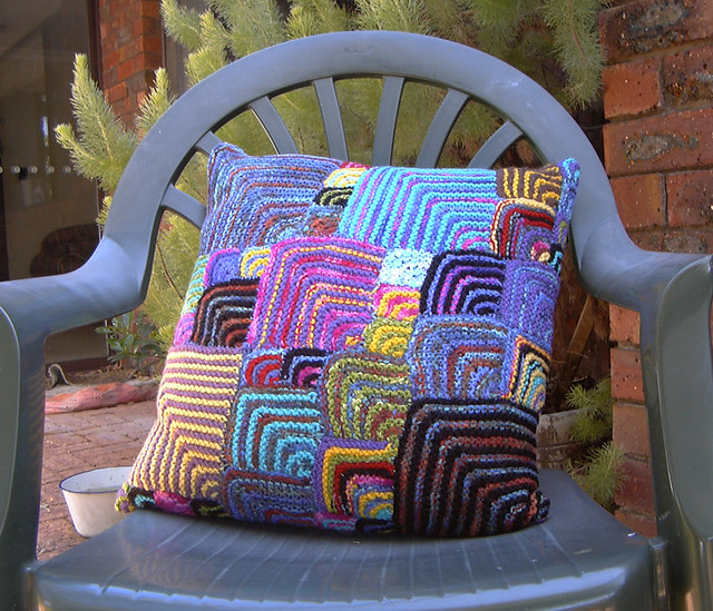 Knitted Cushion, Panasonic DMC-LC20