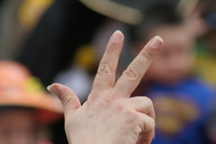 hand, finger, sign language, close-up, thumb,