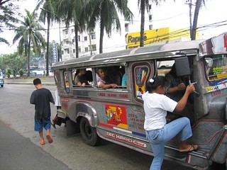 everyone get on the jeepney