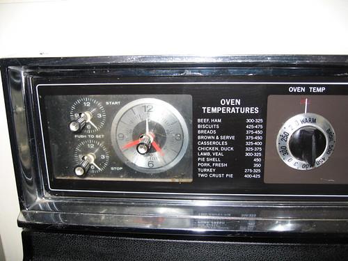 GE Oven Dials (left)