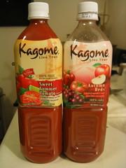 Tomato juice mixes