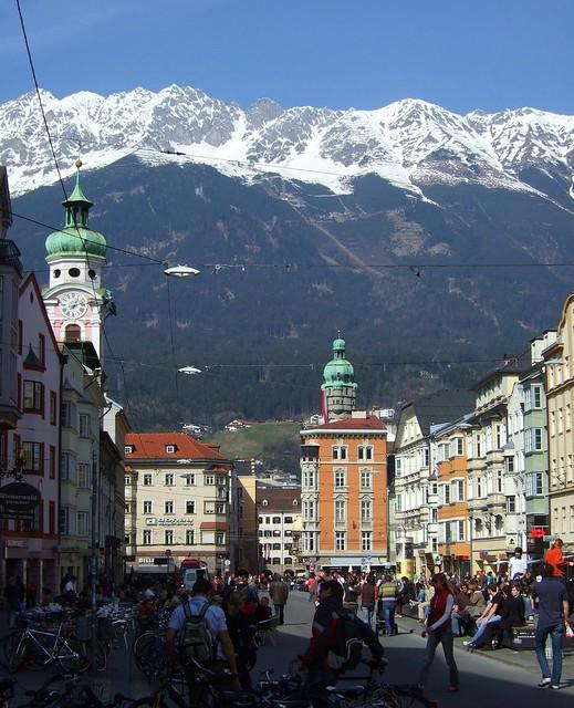 Innsbruck view by CC user James Cridland on Flickr