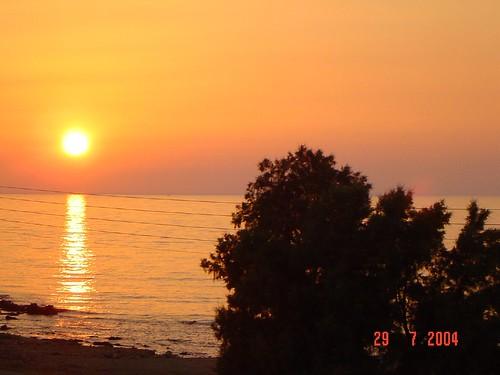 sunset landscape holidays greece crete as12