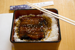 sushi(0.0), meal(1.0), lunch(1.0), unagi(1.0), ekiben(1.0), food(1.0), dish(1.0), cuisine(1.0), bento(1.0),