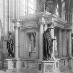 St. Denis, France - Basilica - Tomb of Henry II & Catherine de Medici
