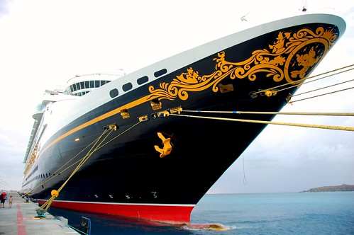 The Disney Magic Cruise Ship by Scott Ableman