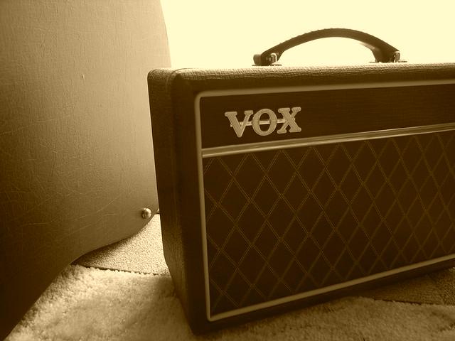 Photo:VOX Guitar amp. By matsuyuki