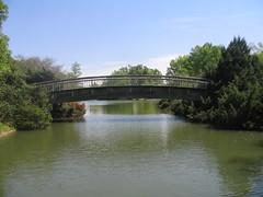 Bridge over Pullen Lake
