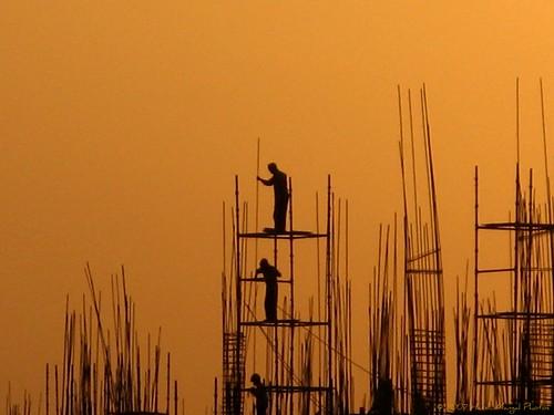 sunset india men silhouette blueribbonwinner flickrsbest ccctd