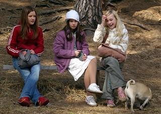 Latvian Girls, Riga, Latvia, April 2006