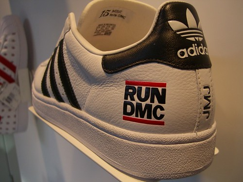 Adidas Run DMC shoe by permanently scatterbrained