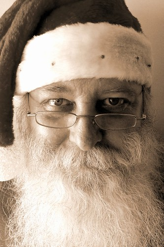 Santa Claus at Christmas