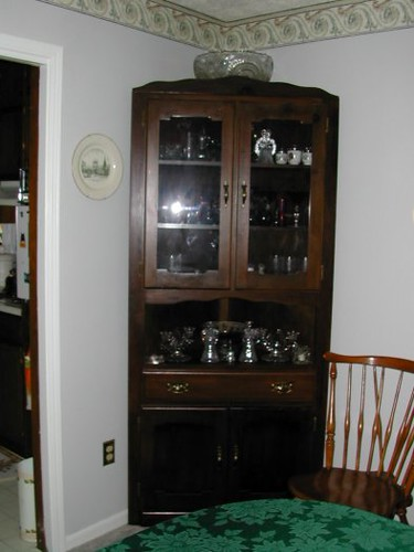 dining room corner cabinet flickr photo