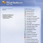 Visual Studio Team Suite Splash Screen