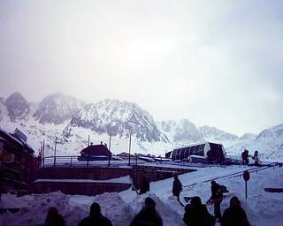 Imageof Església Sant Pere del Pas de la Casa. snow snowboarding andorra pasdelacasa