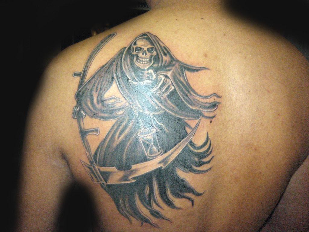 Tatuaje Santa Muerte Pupa Tattoo Granada Pupa Tattoo Art G Flickr