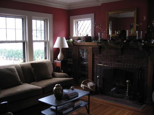 Living room reimagined, December, 2006