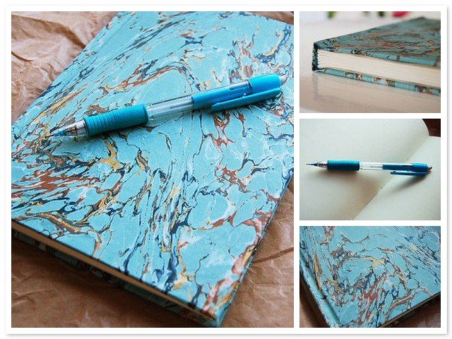 Notebook with Cream Colored pages