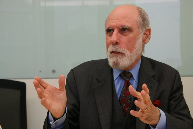 Vinton G. Cerf On Privacy And Technology