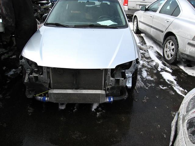 Rental Car Gets Towed