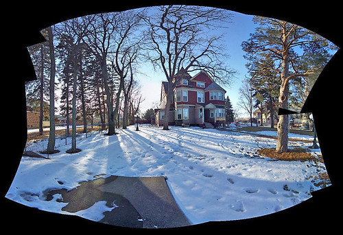 trees winter snow home southdakota siouxfalls 1889 victorianarchitecture cathedraldistrict realvizstitcher adobecs3 harveymansion
