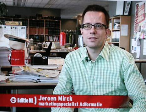 Jeroen Mirck bij Editie NL (RTL4)