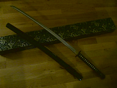 My new sword