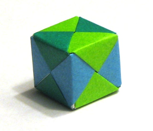 origami cube flickr photo sharing