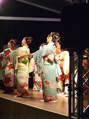 Japanese traditional dance #1;踊り、日本
