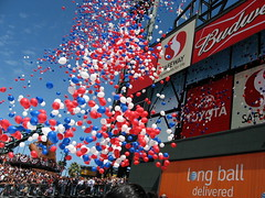 Balloons on opening day
