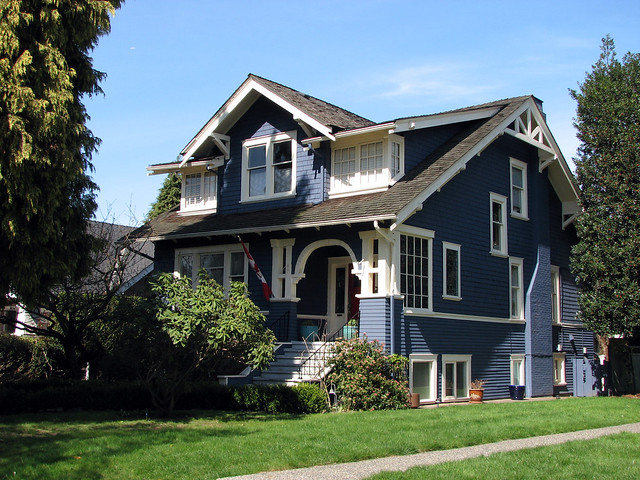 Heritage house 1910 flickr photo sharing - Exterior painting vancouver property ...