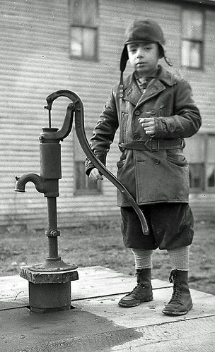Boy at Water Pump